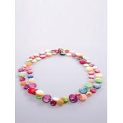 Peter Hahn Bezaubernde Kette aus bunten Perlmutt-Plättchen Peter Hahn mehrfarbig