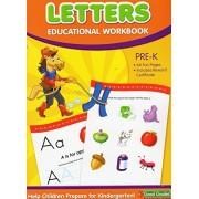 Letters Educational Workbook - Good Grades - Pre-k Grade