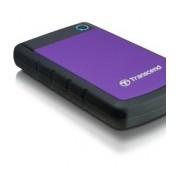 Disco Duro Externo Transcend StoreJet 25H3P 2.5'', 1TB, 5400RPM, SATA, USB 3.0, Púrpura - para Mac/PC