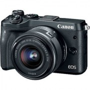 Canon EOS M6 with EF-M 15-45mm IS STM Lens Kit