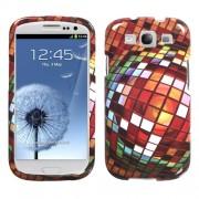 Funda Protector Samsung Galaxy SIII Bola Mosaico