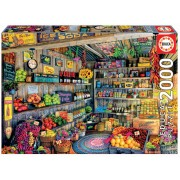 Educa Puzzle Genuine Grocery Shop 2000 de piese 17128