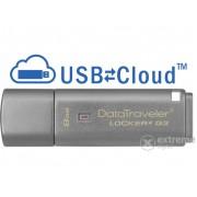 Pendrive Kingston DataTraveler Locker+ G3 (DTLPG3/8GB) USB 3.0 8GB