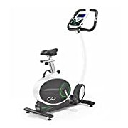 Tunturi Go Bike 50 Upright Exercise Bike - Grey/Green, One Size