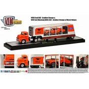 1956 Ford COE & 1970 Ford Mustang Boss 302 (14-12) M2 Machines * Auto-Haulers Release 12 * 2014 Castline Premium...