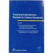 Tratatul privind aderarea Romaniei la Uniunea Europeana