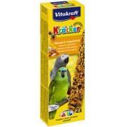 Baton papagali migdale-fructe tropicale, 2buc, 180gr, Vitakraft
