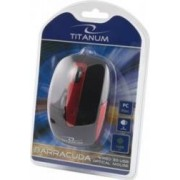 Mouse Esperanza TM108K Titanum Optic 1000DPI Negru-Rosu