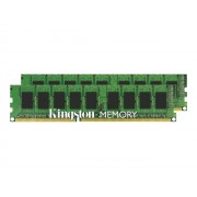 Kingston ValueRAM - DDR3 - 16 Go: 2 x 8 Go - DIMM 240 broches - 1333 MHz / PC3-10600 - CL9 - 1.5 V - mémoire sans tampon - ECC