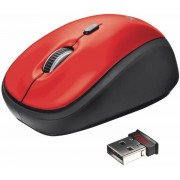 Mouse Wireless Trust Yvi (Rosu)