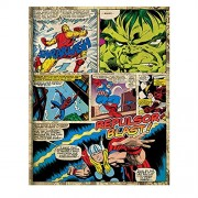 Marvel Comic Print Journal