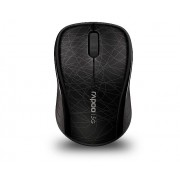 Mouse, Rapoo 3100P, Wireless, Optical, Black