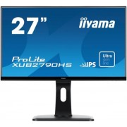"Monitor IPS iiyama 27"" ProLite XUB2790HS, Full HD, HDMI, DVI-D, 5ms, Boxe (Negru) + Bitdefender Antivirus Plus 2017, 1 PC, 1 an, Licenta noua, Scratch Card"