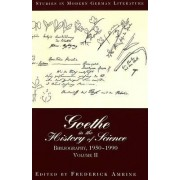 Goethe in the History of Science by Frederick Amrine