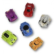 12 Mini Pull Back Galaxy Race Cars Assorted Colors - 1 DZ 2.5 Pullback Play Toy Galaxy Racing Vehicles Prize Assortment - Play Kreative TM