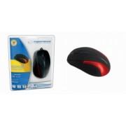 Mouse Cu Fir ESPERANZA EM102R Optic Negru