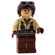 LEGO Star Wars LOOSE Mini Figure Naboo Pilot with Blaster