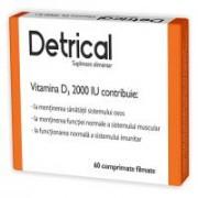 Detrical (vitamina d3) 60cpr ZDROVIT