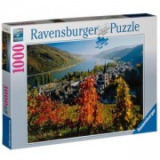 Пъзел от 1000 части - On the River Rhine, Ravensburger, 702009