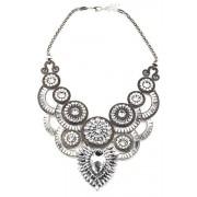 Zaful Faux Crystal Fake Collar Necklace