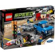 LEGO Speed Champions 75875 Ford F-150 Raptor en Ford Model A Hot Rod