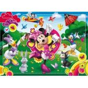 Clementoni Puzzle 24424 - Puzzle maxi (24 piezas), diseño de Minnie