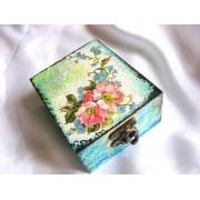 cutie lemn decorata 20625