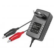 Carregador Baterias de Chumbo Automático 6 / 12VDC 500mA/h