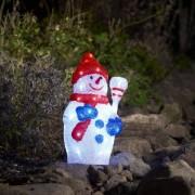 Konstsmide LED Schneemann, 48 kaltweiße LEDs