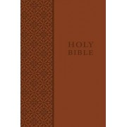 KJV Study Bible, Personal Size, Imitation Leather, Brown, Red Letter Edition by Thomas Nelson