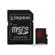 Card memorie Kingston microSDHC 64GB Class3 UHS-I (U3)