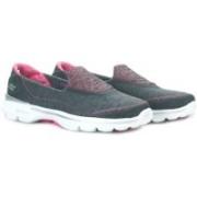Skechers GO WALK 3 - ELEVATE Walking Shoes(Black, Pink)