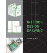 Interior Design Drawing by Alan Hughes