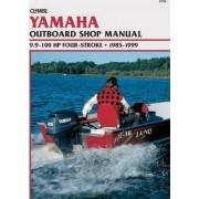 Yamaha 9.9-100 HP 4-Stoke Outboards, 1987-2000: Outboard Shop Manual by Clymer Publications