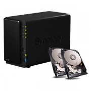 SYNOLOGY DISKSTATION DS216+ NAS SYSTEM 2-BAY INKL. 2X 3TB SEAGATE ST3000VN000