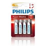 Philips Batterij Penlite LR06 Mignon Powerlife 1.5V AA Per 4