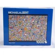 Map of USA 1000 pc Jigsaw Puzzle - Michael Albert