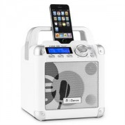 iDance Mobile Cube BC1 Sistem audio portabil Bluetooth BC1 50W USB AUX alb (JP-MobileCube-BC1-wh)