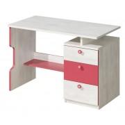 Steiner Shopping Moebel (DO) Kinderzimmer - Schreibtisch Justus 07, Farbe: Kiefer Rosa - Abmessungen: 79 x 11