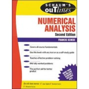 Schaum's Outline of Numerical Analysis by Francis Scheid