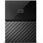 Външен твърд диск HDD 2TB USB 3.0 MyPassport for Mac NEW, Черен, WDBP6A0020BBK