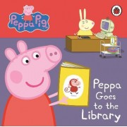 Peppa Pig: Peppa Goes to the Library: My First Storybook by Ladybird