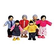 Hape HAP-E3502 Happy Family-Asian