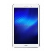 "Tableta Huawei MediaPad T1, Procesor Quad Core 1.2GHz, IPS capacitive touchscreen 8"", 1GB RAM, 8GB Flash, 5MP, Wi-Fi, 3G, Android (Alb/Argintiu) + SIM Orange PrePay, 8 GB internet 4G, 5 euro credit"