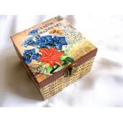 Cutie lemn decorata - 26367