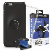 Quad Lock Bike Kit Smartphone holder For iPhone 6 PLUS black Akcesoria do smartphonów