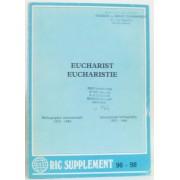 Eucharist -Eucharistie, Bibliographie Internationale 1975-1984 International Bibliography 1975-1984 (Ric Supplément 96-98