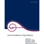 Commutative Ring Theory by Paul-Jean Cahen