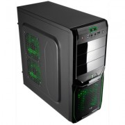 Aerocool Caja Semitorre V3X AdvanBlack Green 30