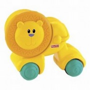 Fisher Price Growing Baby Press and Crawl Lion, Multi Color